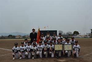 筑邦銀行旗第3回久留米近圏学童軟式野球大会